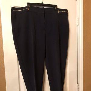 Size 18 Navy Blue Pants